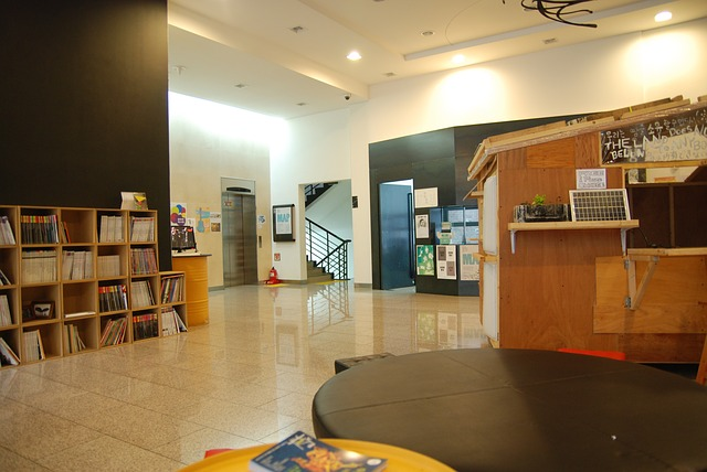 Free building lobby seoul munrae arts factory