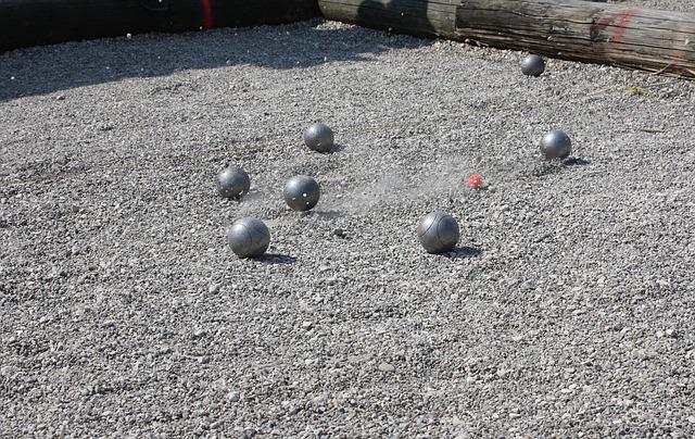 Free pétanque boule sport play balls shoot pebble