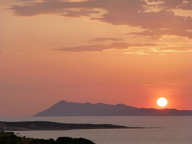Free island greece sea red