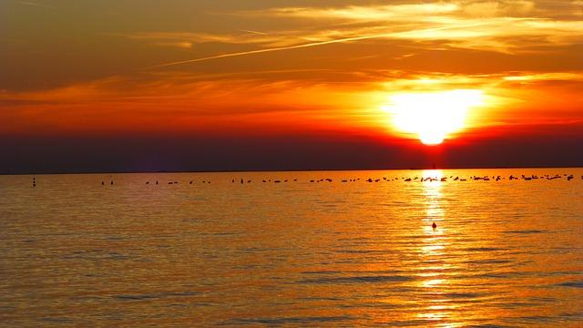 Free afterglow abendstimmung dusk sunset nature evening