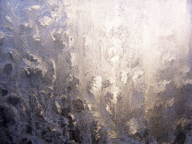 Free ice hardest winter frost frozen cold window