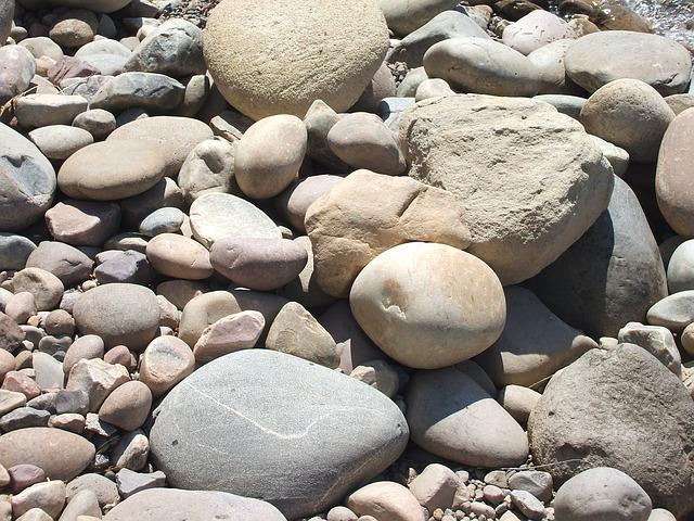 Free gravel beach stones beach grand tetons america
