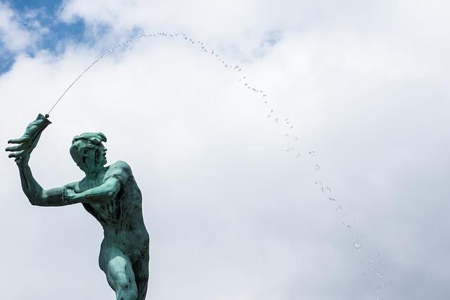 Free brabobrunnen fountain grote markt belgium antwerp
