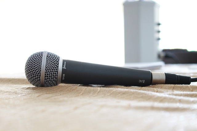 Free microphone sound studio recording music sing