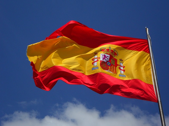 Free                spain flag flutter spanish cabrera wind windy