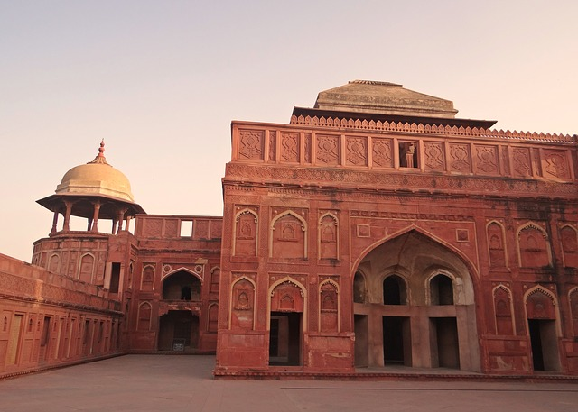 Free agra fort castle palace mughal unesco site