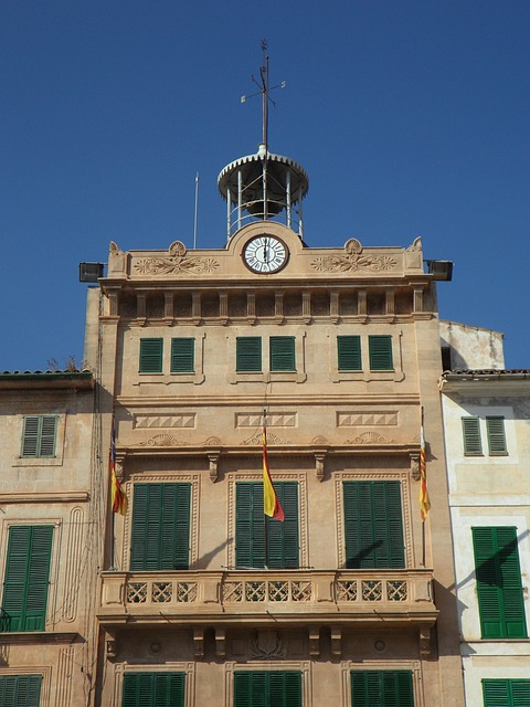 Free Photos: Town hall llucmajor mallorca spain building home | M W