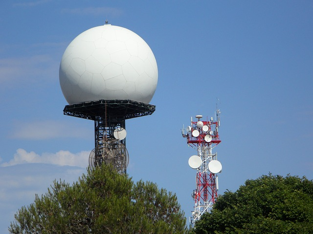 Free radar radar station masts radio transmission tower