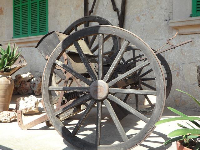 Free wagon wheel dare coach wooden wheel old wheels