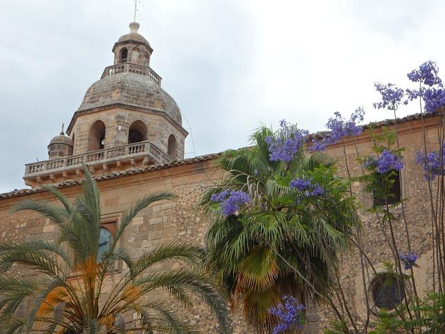 Free Photos: Church dome algaida mallorca architecture building | M W