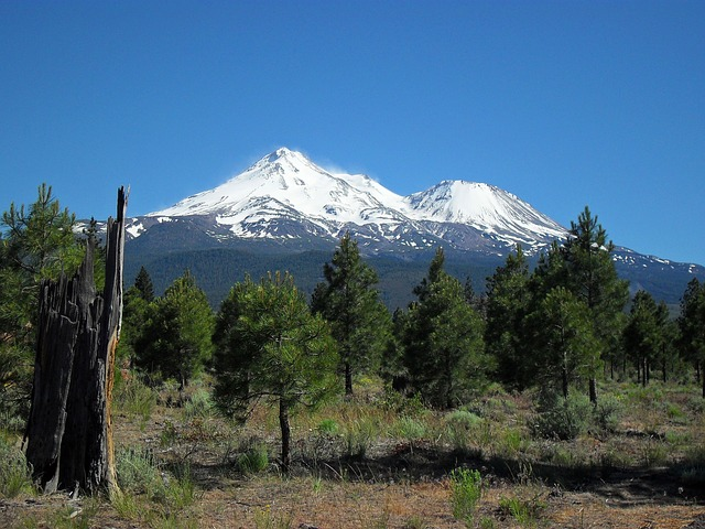 Free mt shasta mountain snow outdoor majestic