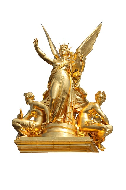 Free gold statues brass art metal noble bronze nobel