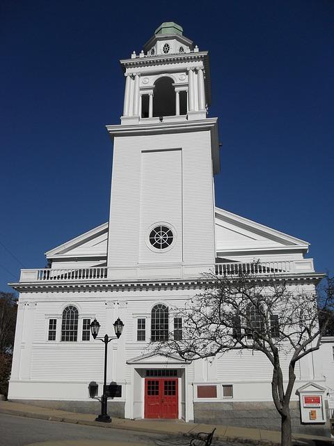 Free Photos: Church white new england architecture faith | Don White