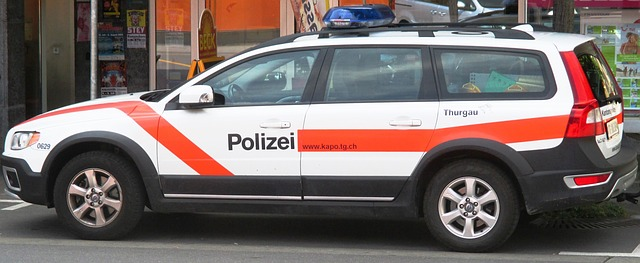 Free police car blue light peace and order security