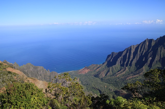 Free hawaii kauai kalalau lookout mountains