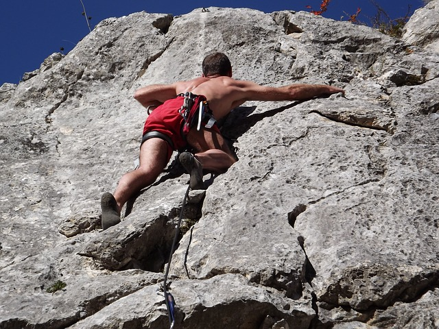 Free Photos: Climbing alpinism man mountain nature sport | Razvan Pop
