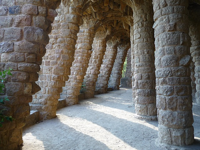 Free gaudí barcelona europe spain architecture design
