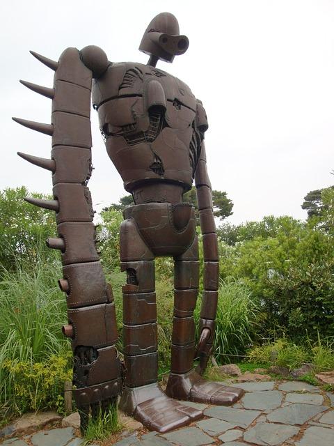 Free statue cartoon giant