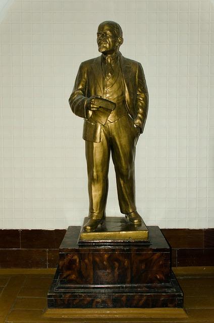 Free lenin sculpture bronze cast casting russia