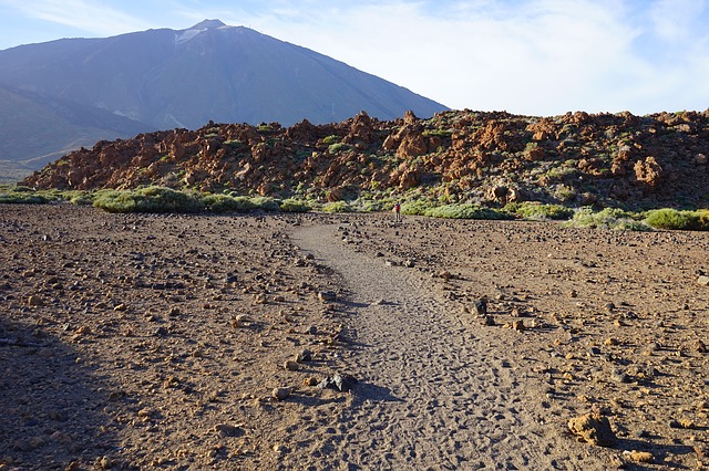 Free Photos: Teide away path sand desert lava lava flow | Hans Braxmeier