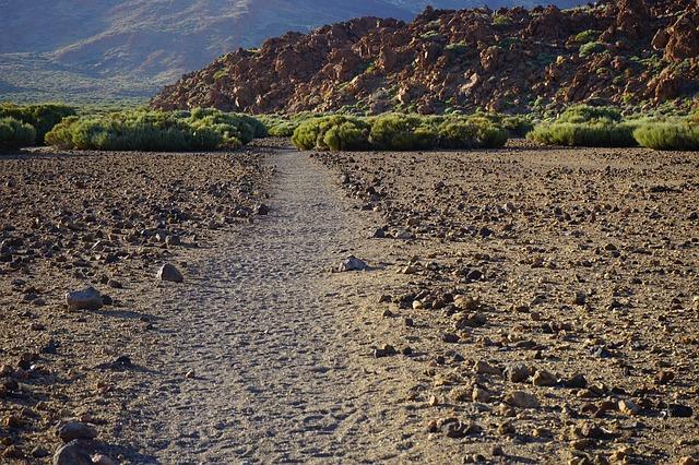 Free Photos: Away path sand desert lava lava flow basalt | Hans Braxmeier