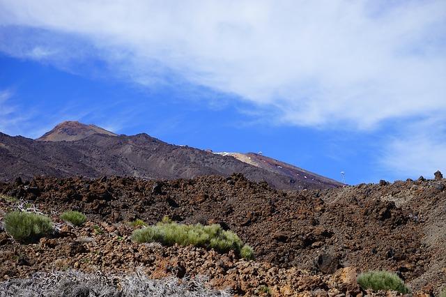 Free lava flow lava cold teide pico del teide teyde