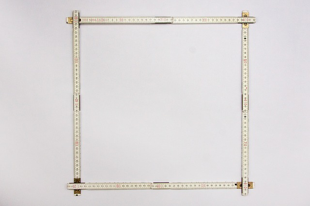 Free meterstab outline picture frame frame mat
