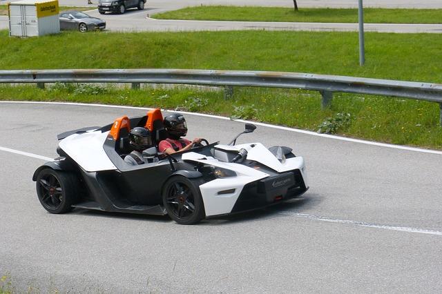 Free racing car ktm x-bow vehicles flitzer sports car