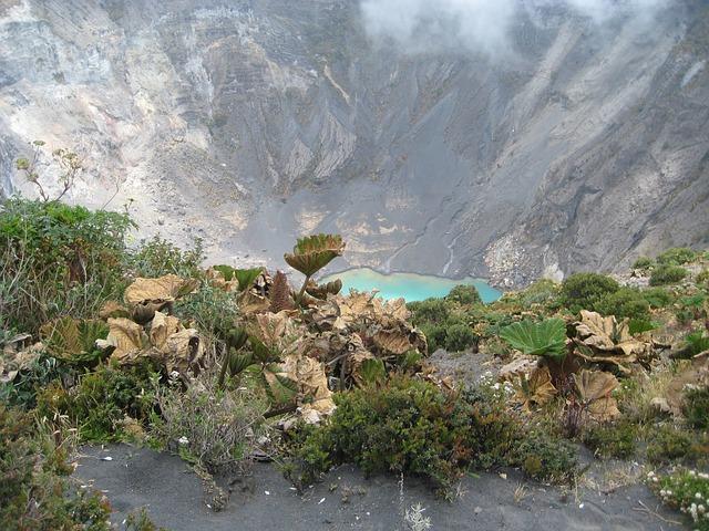 Free volcano costa rica landscape lake mountain