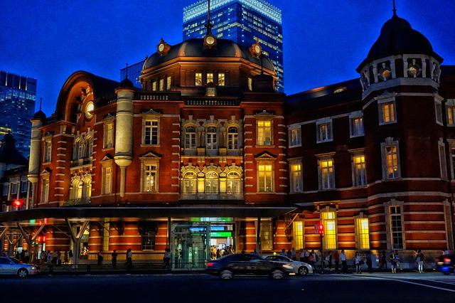 Free tokyo japan city cities urban night evening