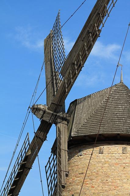 Free mill wind excursion windmill