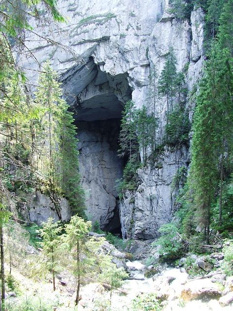 Free miracles cetatile ponorului cliff cave karst padis