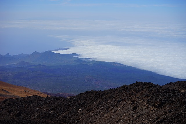 Free tenerife outlook good view foresight fog clouds