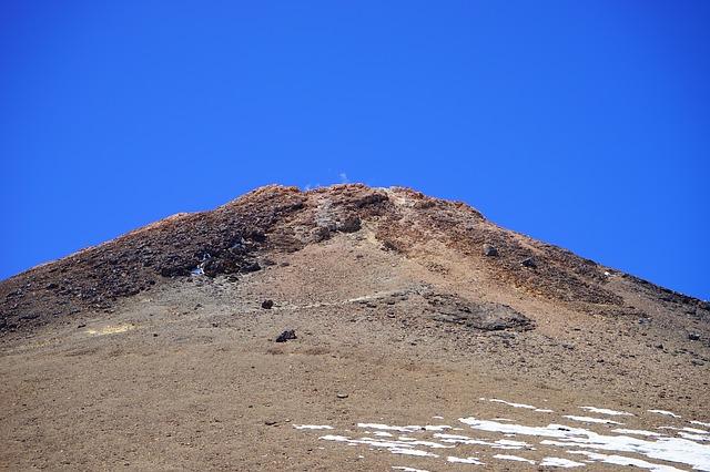 Free teide pico del teide summit volcano smoke smoking