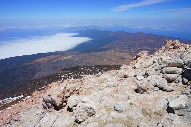 Free teide pico del teide summit away outlook view fog