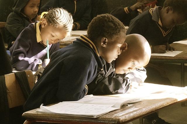 Free students classroom learn school children