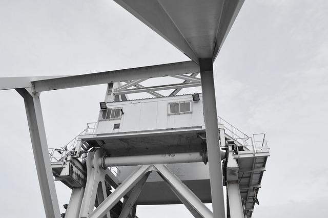Free bridge pegasus bridge grey metal steel war