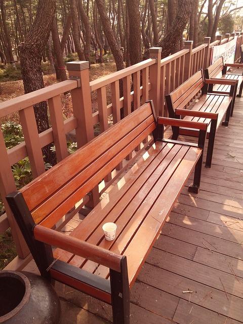 Free bench chair break
