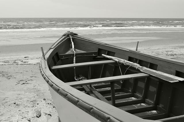 Free barca sea the antilla lepe huelva shore landscape