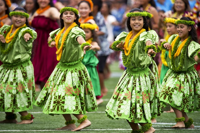 Free               hawaiian hula dancers aloha stadium dod photo