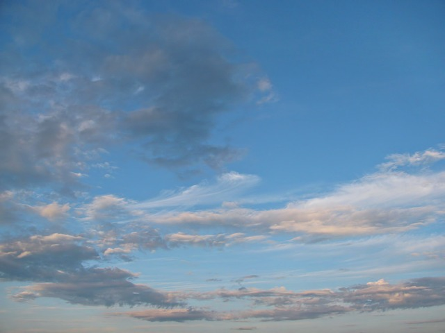Free sky clouds skyscape air blue