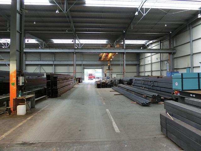 Free factory building warehouse industry steel industry