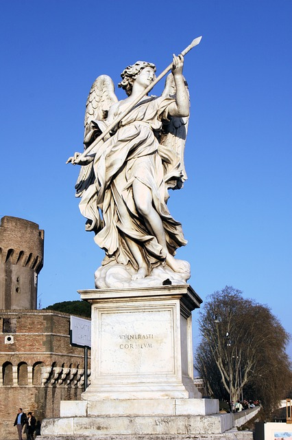 Free italy rome castel sant'angelo statue of liberty