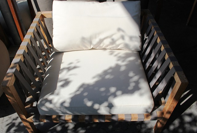 Free chair garden chair cozy inviting wood plastic