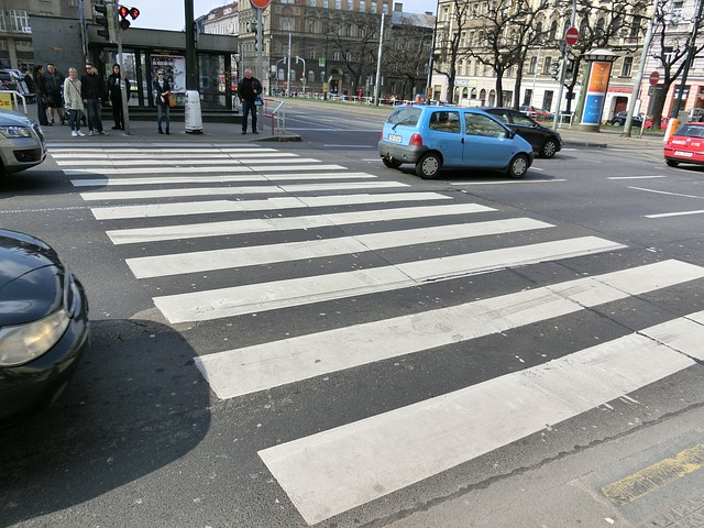 Free zebra crossing street city crossing cross