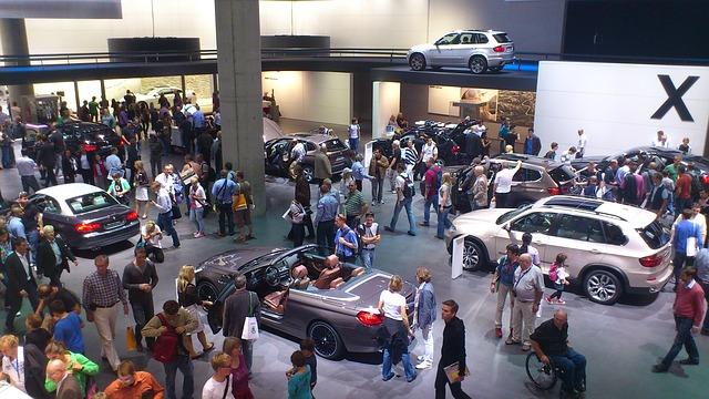 Free iaa exhibition fair auto traffic