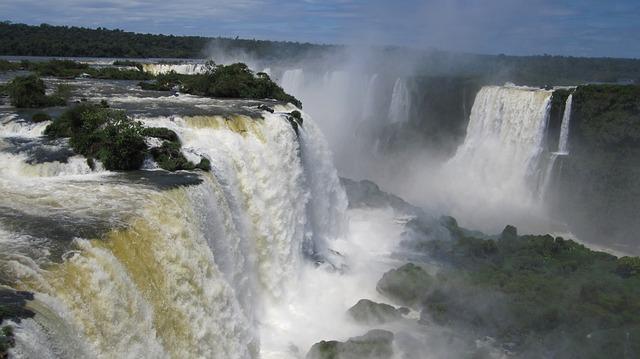 Free iguazú waterfalls waterfall water wall iguazu water