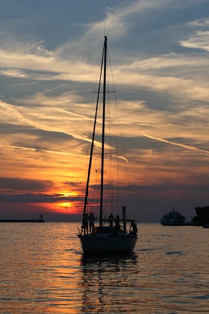 Free sailing boat ship hungary lake balaton sailing