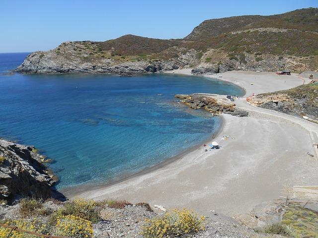 Free sardinia beach summer sea holiday rocks sand