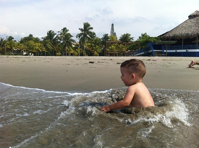 Free baby water fun summer lifestyle healthy joy